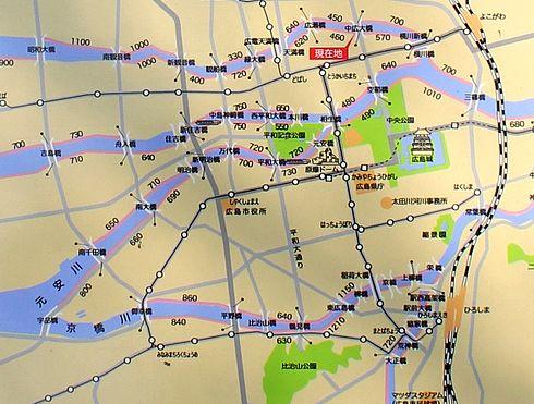 広島市 水の都リバーウォーク マップ