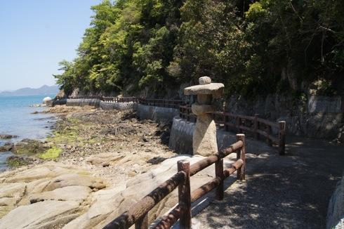 因島 地蔵鼻への道 画像3