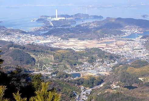 大崎上島 神峰山、瀬戸内を見渡す3つの展望台