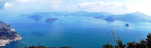 神峰山 展望台からの景色2