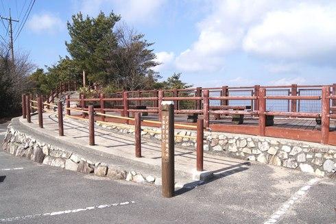 神峰山 第一展望台の様子