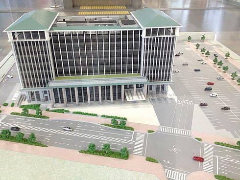 呉市役所 2015年目指し建替え、呉市新庁舎