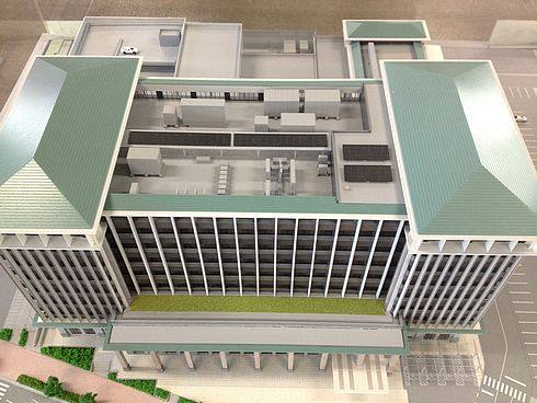 呉市新庁舎、呉市役所の完成イメージ