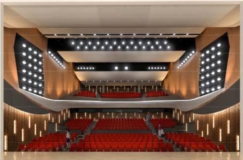 呉市新庁舎、呉市役所の完成イメージ 市民ホール