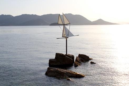生口島 島ごと美術館 波の翼