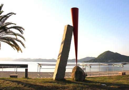 生口島 島ごと美術館 赤いかたち