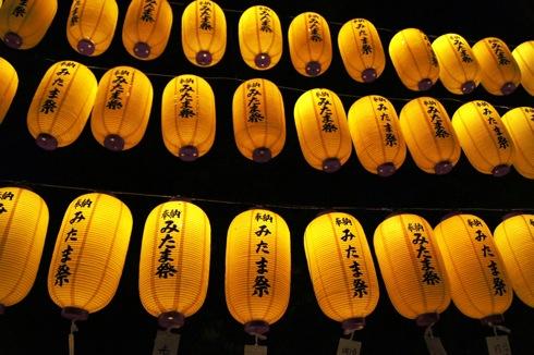 広島護国神社 万灯みたま祭 画像1