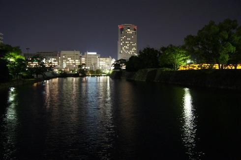 広島護国神社 周りの夜景