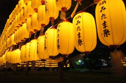 広島護国神社 万灯みたま祭 提灯の画像2