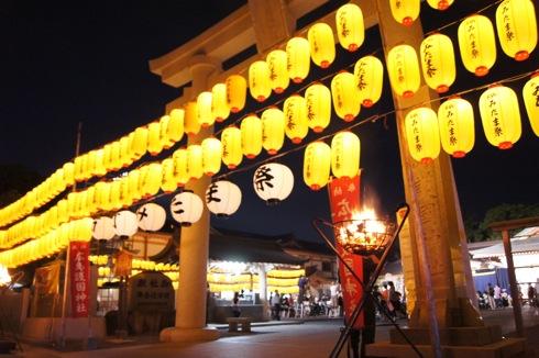 広島護国神社 万灯みたま祭 提灯の画像1