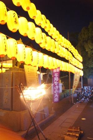 広島護国神社 万灯みたま祭 画像2