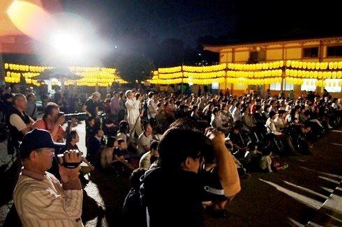広島護国神社 万灯みたま祭 カメラマンたち