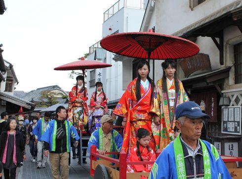 たけはら竹まつり かぐや姫パレードの画像2