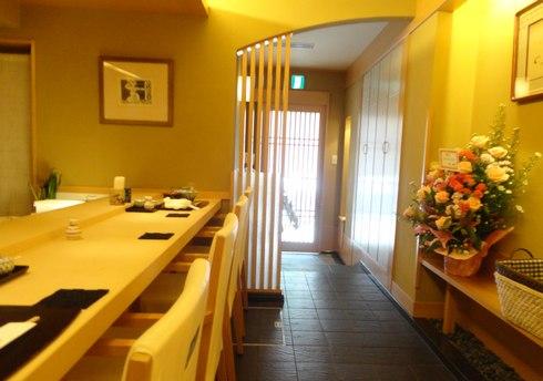 広島 天甲本店、ミシュラン2つ星の 天ぷら屋さん