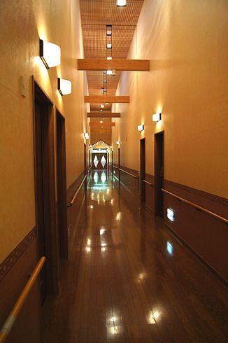 広島 アルカディアビレッジの通路