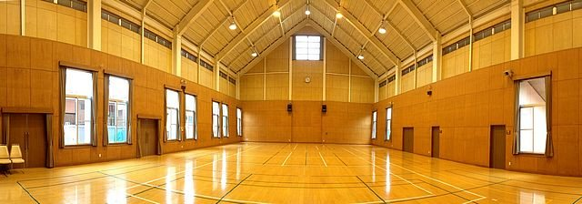 広島 アルカディアビレッジの体育館
