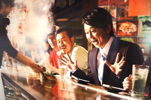 有吉弘行 「行かなきゃ おしい!広島県」 ポスターに、県庁の人も