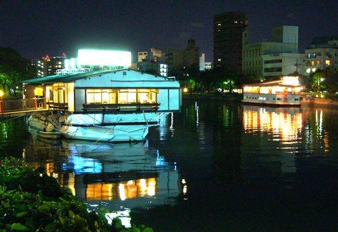 広島 かき船、2014年度で終わりに?国土交通省から通告