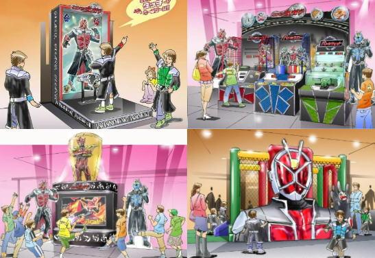 仮面ライダーアクションスタジアム、広島イオンモールで仮面ライダーに変身できる