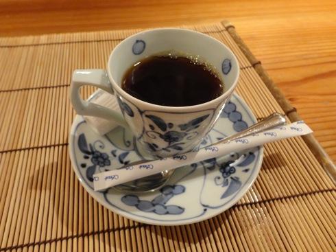 広島 児玉 ミシュランの店 デザートのコーヒー