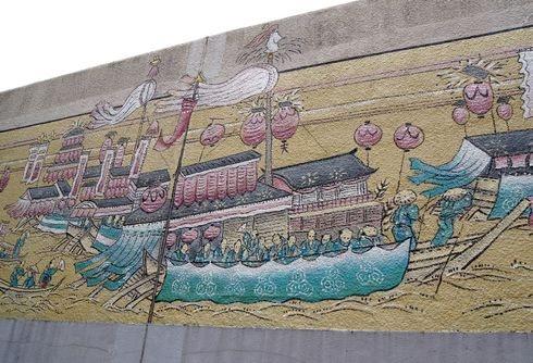 広島拘置所の壁画アート3