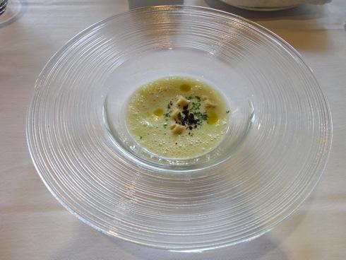 MILLE(ミル) 空豆の冷製スープ