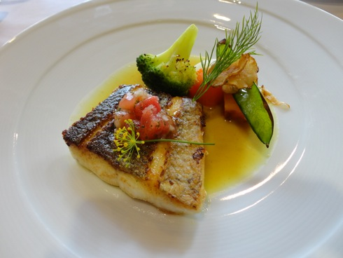 MILLE(ミル) コースの魚料理