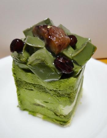 お菓子茂(OKASHIMO) 抹茶ケーキの画像
