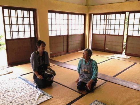 大窪寺の歴史を教えてくれた