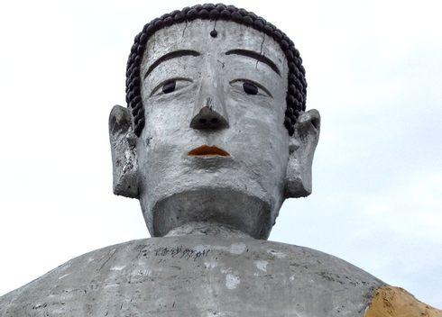 大窪寺の大仏