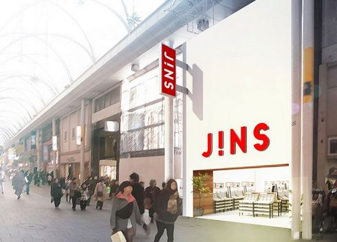 JINS(ジンズ)広島本通り店、日本最大店がオープン!工場も併設