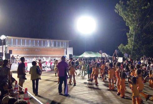三次きんさい祭り パレード フィナーレ会場