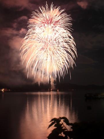 くらはし遣唐使船まつり 花火の写真9