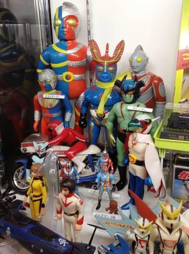 人造人間キカイダー、デビルマン、ガッチャマン、宇宙戦艦ヤマト
