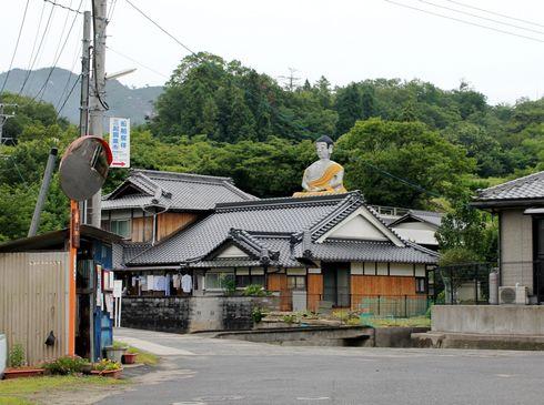 江田島 大窪寺の大仏