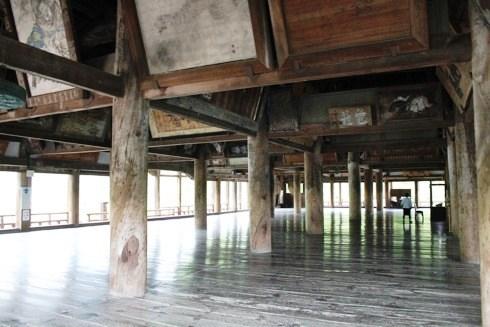 宮島 千畳閣(豊国神社) の中の様子1