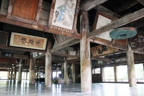 宮島 千畳閣(豊国神社) の中の様子 2