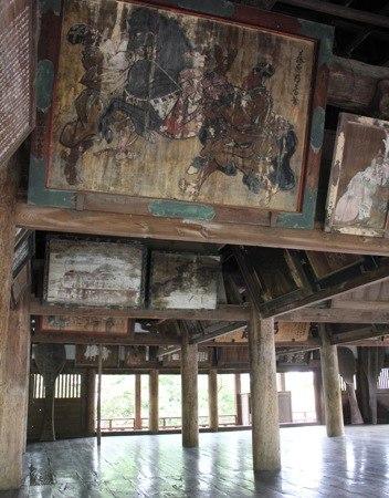 宮島 千畳閣(豊国神社) の中の様子3