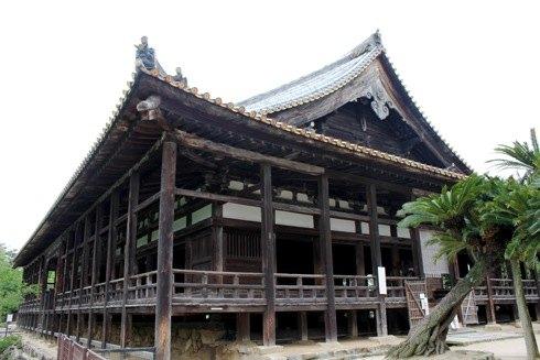 千畳閣(豊国神社)、豊臣秀吉が建立命じた宮島最大の大経堂
