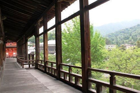 宮島 千畳閣(豊国神社) の廊下