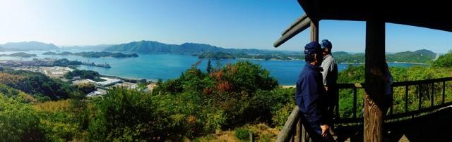 因島 白滝山の中腹展望台からの画像3