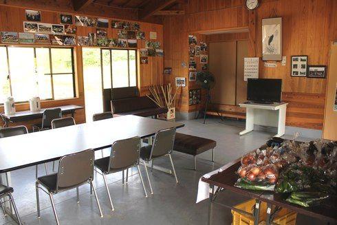 大狩山砂防ダム公園 管理棟の中の画像