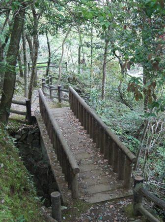 わにぶちの滝 への道・橋