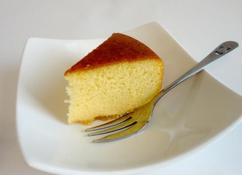 敦盛さん 高野りんごのバターケーキ 断面図