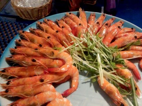 グランヴィア広島 ビアガーデン バイキング料理1