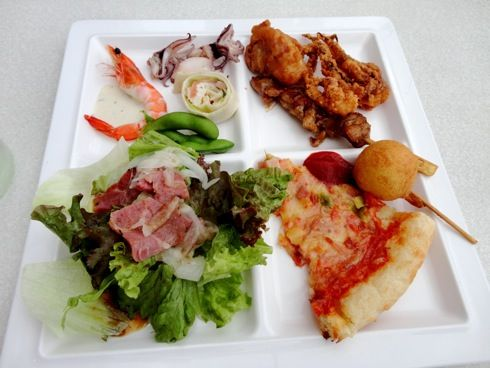 グランヴィア広島 ビアガーデン バイキング料理5