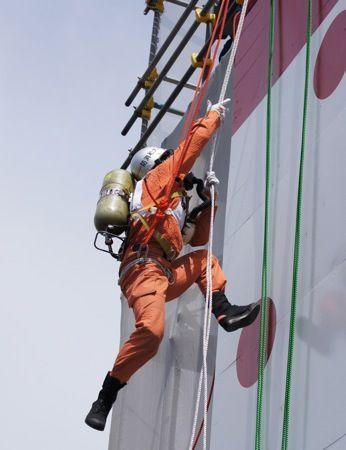 全国消防救助技術大会 広島 引揚救助
