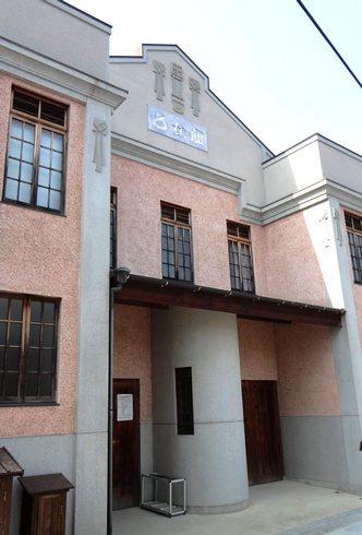 乙女座、呉市御手洗に残る昔の映画館