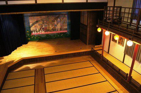 乙女座の2階からステージを見た様子