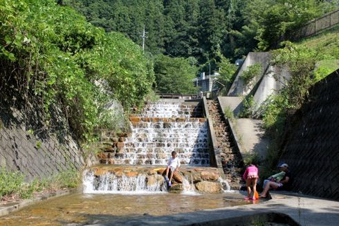 江の川カヌー公園さくぎ 川遊びゾーン2